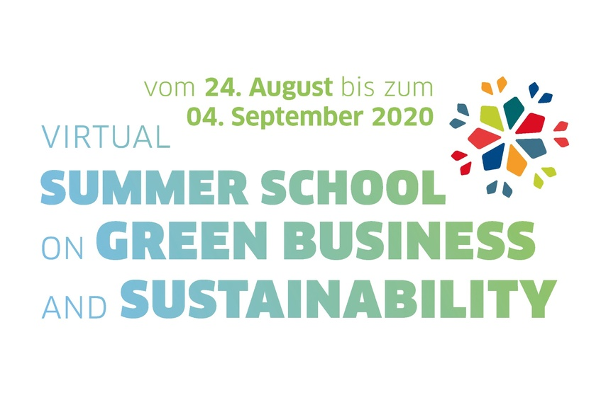 Jetzt anmelden – Summer School on Green Business and Sustainability 2020